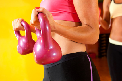 Speed Sculpt Your Arms With Kettlebells