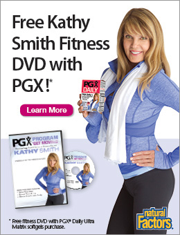 Order PGX and Get a Free Kathy Smith Workout!
