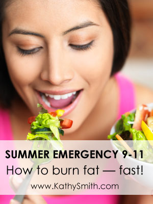 Summer Emergency 9-11: How to burn fat -- fast!
