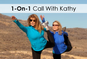 1-on-1-Call With Fitness Expert Kathy Smith