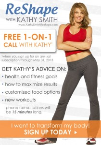 1-ON-1 Call With Fitness Expert Kathy Smith