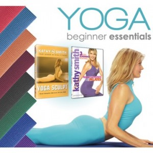Kathy Smith's Yoga Beginner Essentials Kit