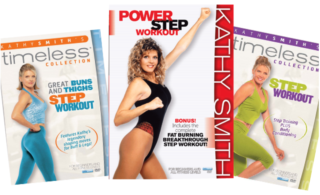 Kathy Smith's Power Step 3 DVD Bundle