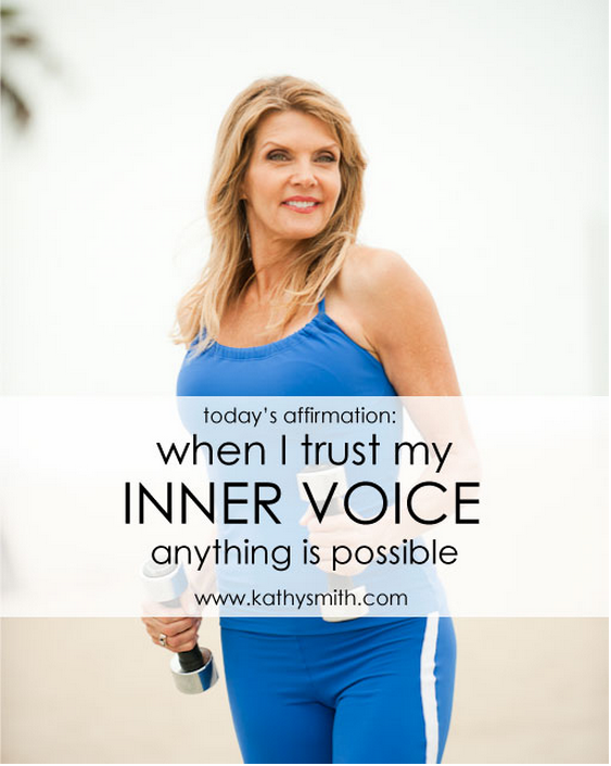 When you trust your inner voice anything is possible
