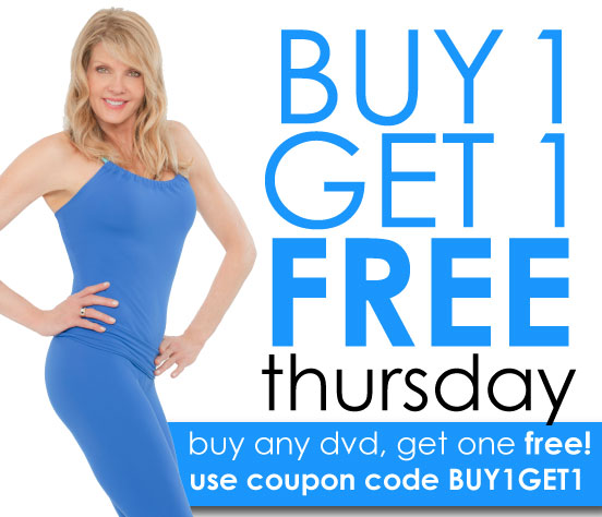 It's BUY 1 GET 1 FREE Thursday at KathySmith.com