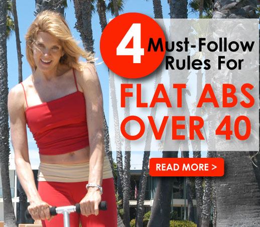4 Rules For Flat Abs Over 40