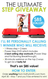 Kathy Smith Step Aerobics Giveaway