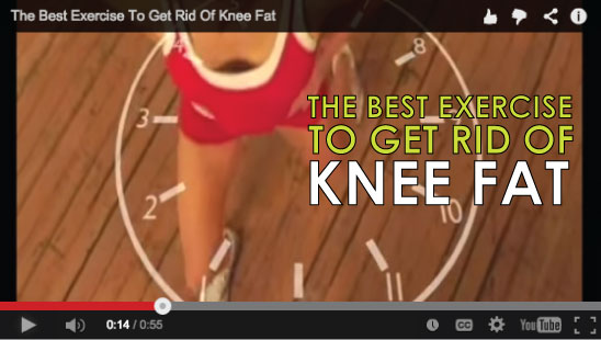 The BEST exercise to get rid of knee fat