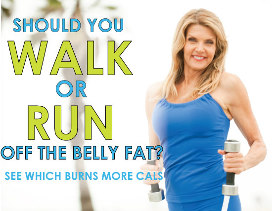 does jogging burn belly fat