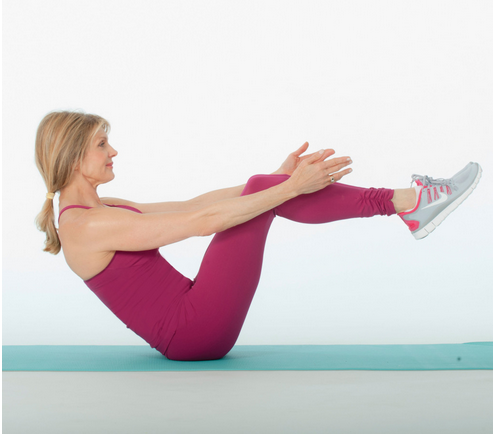 1 Move to Activate Your Abs…V-Sit