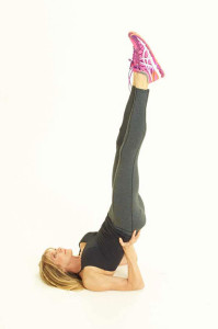 Kathy Smith Yoga Shoulder Stand