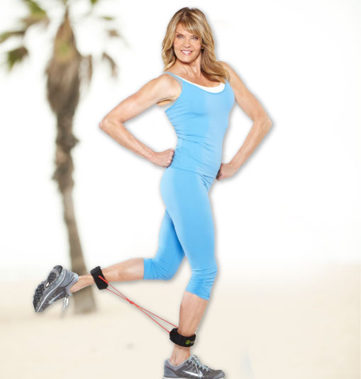 The YOU-CAN-DO-IT  SLEEK ARMS LEAN LEGS FIRM BUTT Exercise