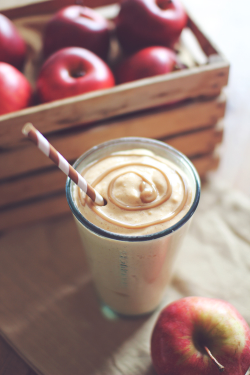 Caramel Apple Pie Protein Shake Recipe