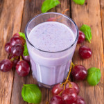 Ga-Ga For Grape Protein Shake