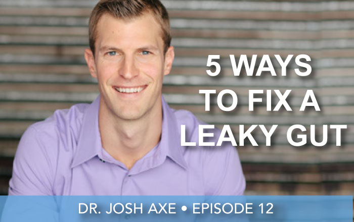 Episode 12 | Dr. Josh Axe | 5 Ways To Heal Leaky Gut