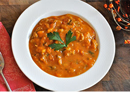Turkey Pumpkin Stew