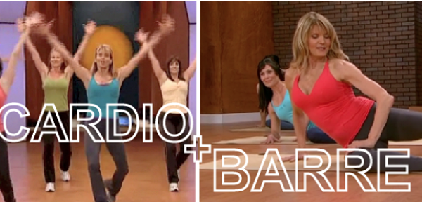 6-Min Cardio + Barre Video