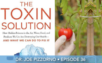 Episode 36 | Dr. Joe Pizzorno | Avoid These Toxins Every Day