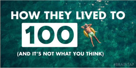 HOW THEY LIVED TO 100 (IT'S NOT WHAT YOU THINK)!