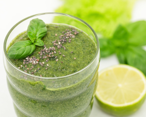 Lemon Ginger Parsley Slim Shake Recipe
