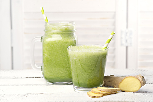 Green Ginger Protein Shake