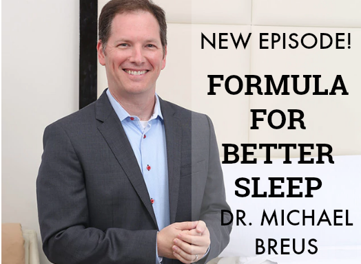 Episode 63 | Dr. Michael Breus, Ph.D. | New Formula for Deep Sleep