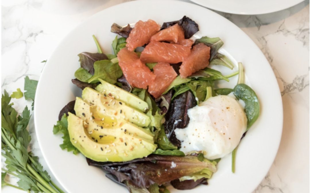 Grapefruit Avocado Breakfast Salad