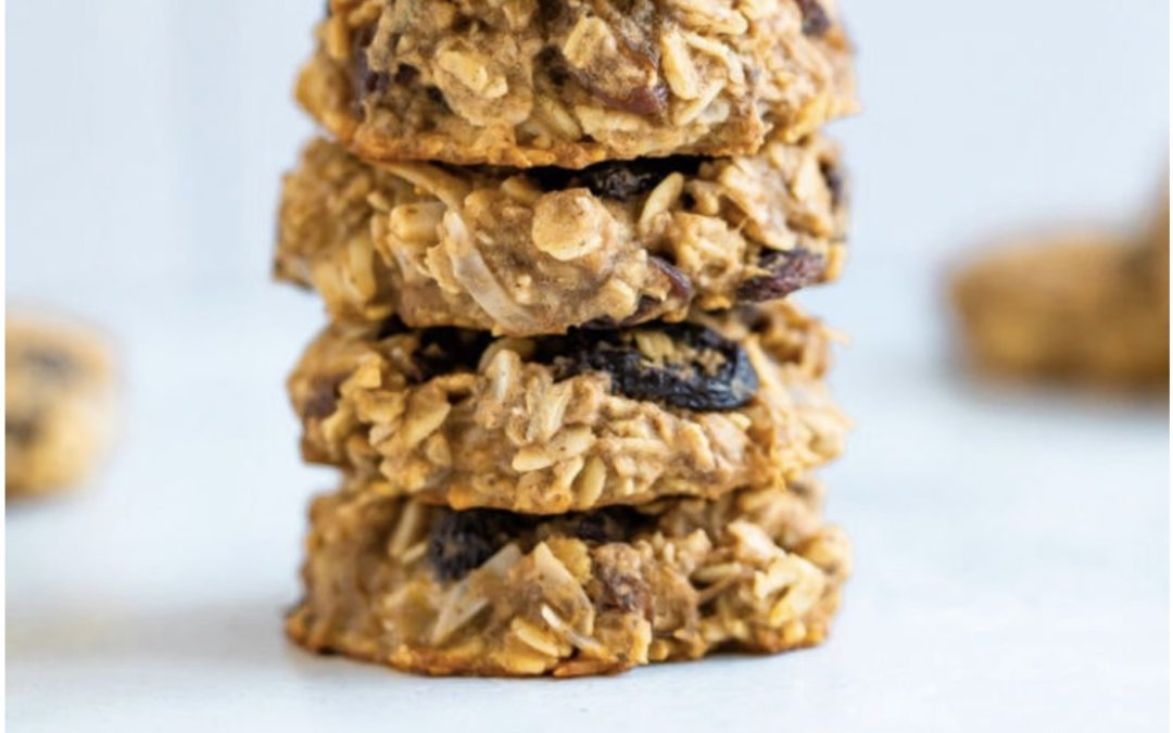 Oatmeal Raisin Protein Cookies