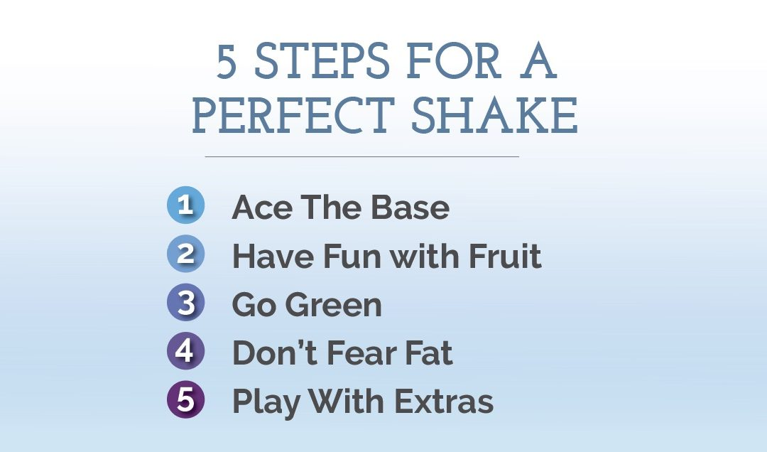5 Steps for Creating a Perfect Protein Shake